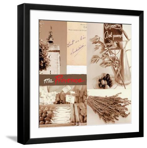 Provence clochet-Lizie-Framed Art Print