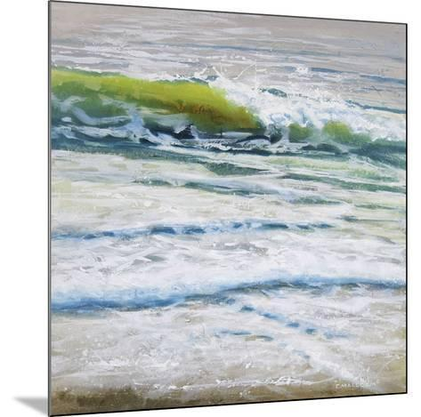 Shoreline study 4-Carole Malcolm-Mounted Art Print
