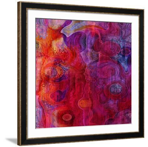 Crazy Colors 2-Jefd-Framed Art Print