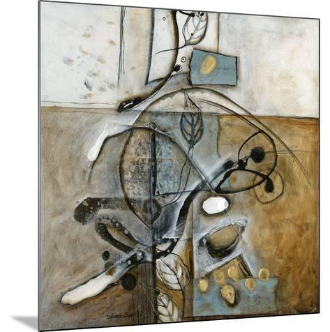 Nervures-Sylvie Cloutier-Mounted Art Print