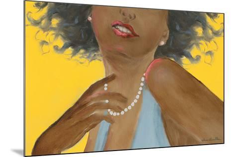 Femme noire-H?l?ne L?veill?e-Mounted Art Print
