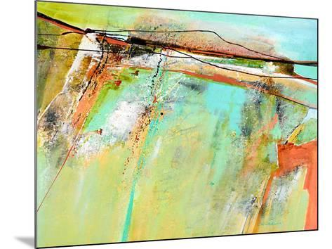 Spring lines-Carole Malcolm-Mounted Art Print