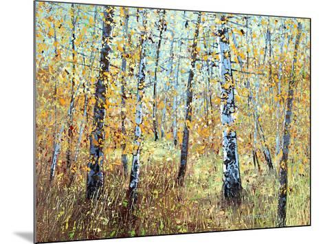 Treescape 7-Carole Malcolm-Mounted Art Print