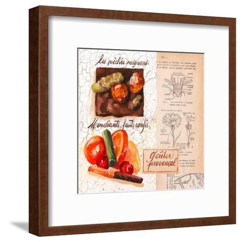 Fruits confis-Pascal Cessou-Framed Art Print