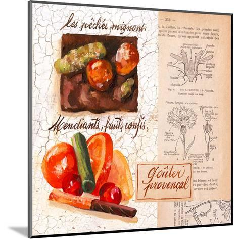 Fruits confis-Pascal Cessou-Mounted Art Print