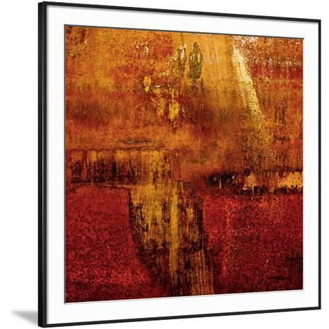 Sunny abstract 1-Jean-Fran?ois Dupuis-Framed Art Print