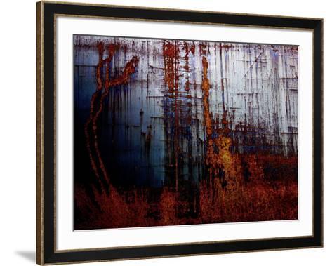 Metal abstract 1-Jean-Fran?ois Dupuis-Framed Art Print