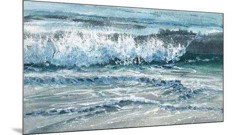 Shoreline study 15-Carole Malcolm-Mounted Art Print