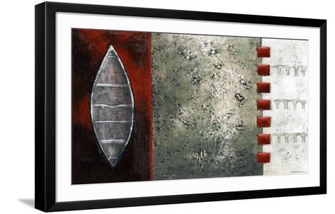 La rivière verte I-Marie Claprood-Framed Art Print