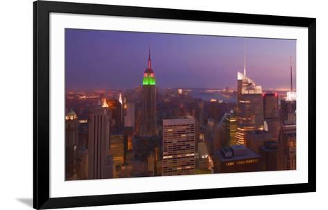 New York view 2-Jefd-Framed Art Print