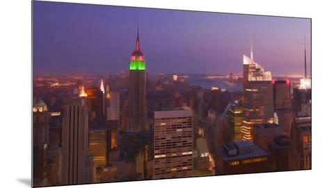 New York view 2-Jefd-Mounted Art Print