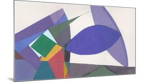 Equilibrium-Diane Lambin-Mounted Art Print