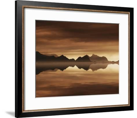 Mirrored Sea-Andreas Stridsberg-Framed Art Print