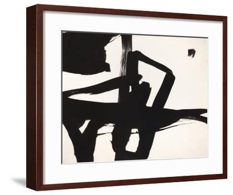 Untitled, 1950-Franz Kline-Framed Art Print