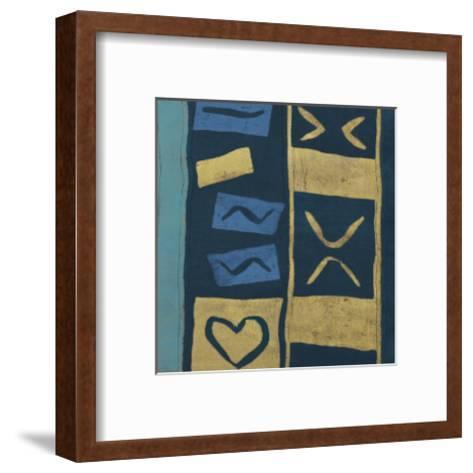 Lokoro III-Maria Mendez-Framed Art Print