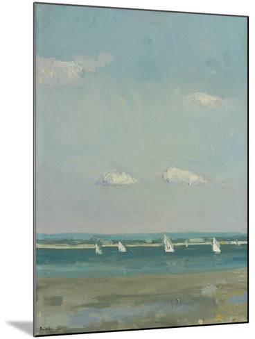 Boats at East Head I-Paul Brown-Mounted Giclee Print