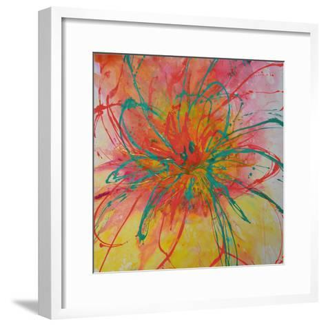 Bouquet II-Caroline Ashwood-Framed Art Print