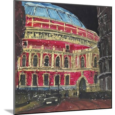Late Night Performance, Royal Albert Hall, London-Susan Brown-Mounted Giclee Print