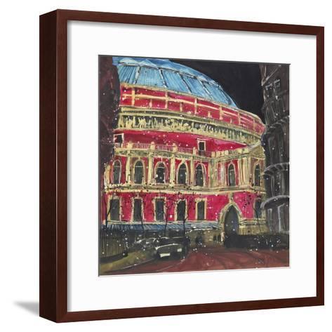 Late Night Performance, Royal Albert Hall, London-Susan Brown-Framed Art Print