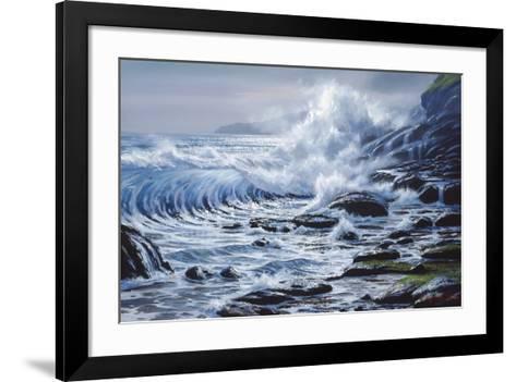Crashing Wave-Raymond Sipos-Framed Art Print
