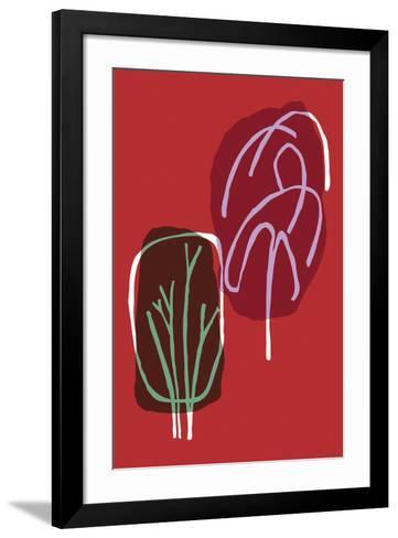 Tree Line I-Callie Crosby and Rebecca Daw-Framed Art Print