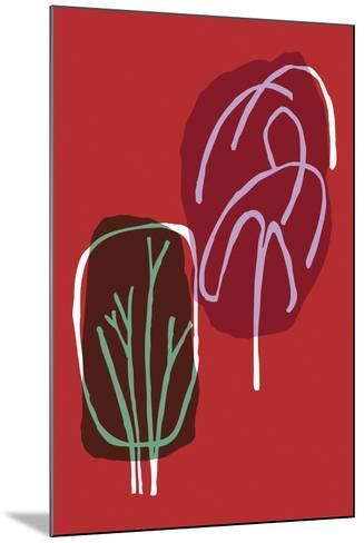 Tree Line I-Callie Crosby and Rebecca Daw-Mounted Giclee Print