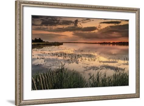 Red Skies-Steve Docwra-Framed Art Print