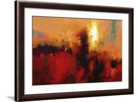 Red Ground-Kanayo Ede-Framed Art Print
