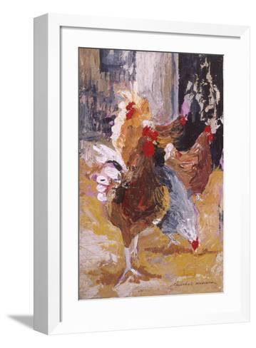 Outside the Barn-Anuk Naumann-Framed Art Print