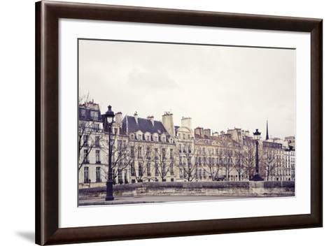 Les Maisons-Irene Suchocki-Framed Art Print