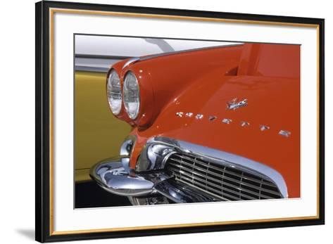 Chevrolet Corvette I-Richard Cummins-Framed Art Print