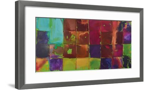 Pixel I-Caroline Ashwood-Framed Art Print
