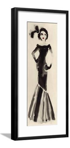 Feathers in her Hair-Bridget Davies-Framed Art Print