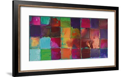 Pixel II-Caroline Ashwood-Framed Art Print