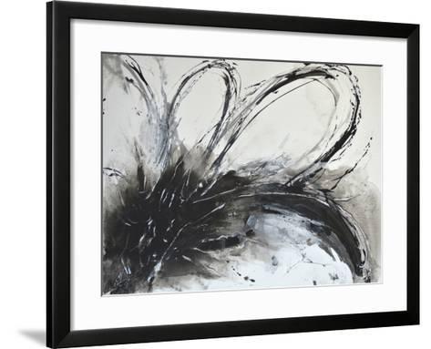Monochrome Flora I-Caroline Ashwood-Framed Art Print