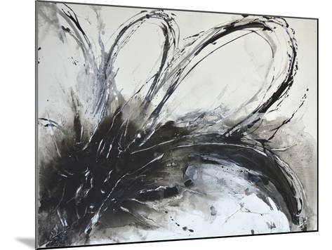 Monochrome Flora I-Caroline Ashwood-Mounted Giclee Print