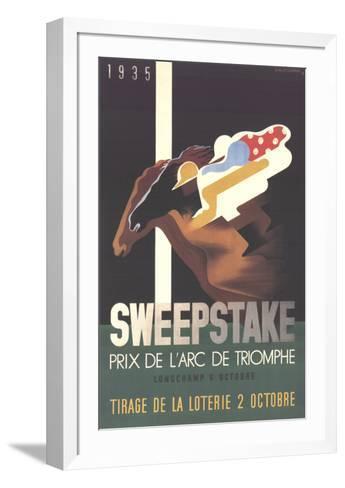 Sweepstake-Adolphe Mouron Cassandre-Framed Art Print