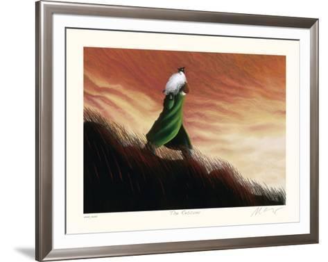 The Rescuer-Mackenzie Thorpe-Framed Art Print