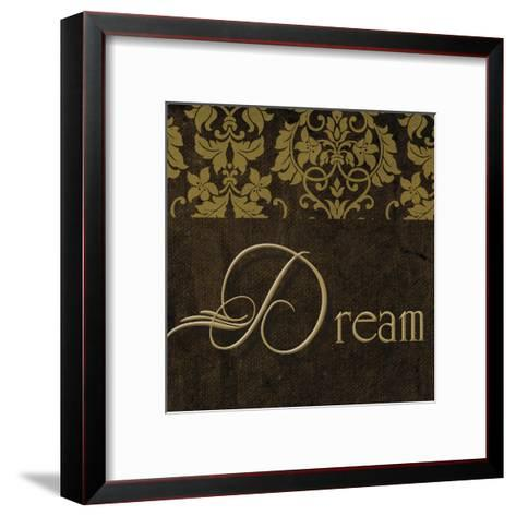 Oscar Gold A2-Taylor Greene-Framed Art Print