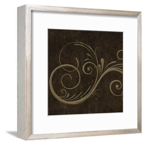 Oscar Gold B6-Taylor Greene-Framed Art Print