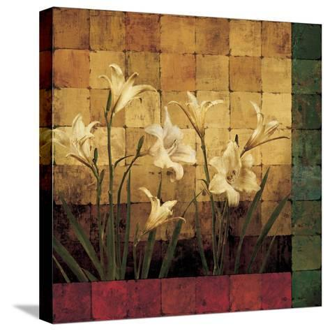 Lily Garden-Marcia Wells-Stretched Canvas Print