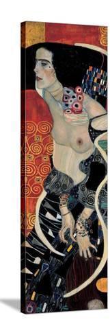 Judith II-Gustav Klimt-Stretched Canvas Print