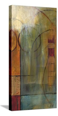 Slender Friends I-Mike Klung-Stretched Canvas Print