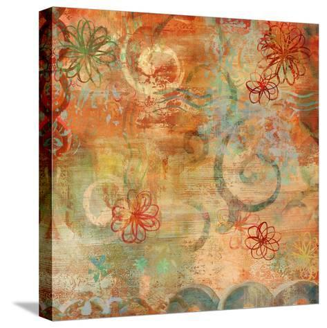 Happy Days II-Emily Dunn-Stretched Canvas Print