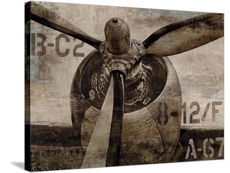 Vintage Propeller-Dylan Matthews-Stretched Canvas Print