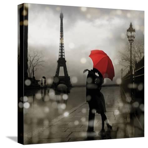 Paris Romance-Kate Carrigan-Stretched Canvas Print