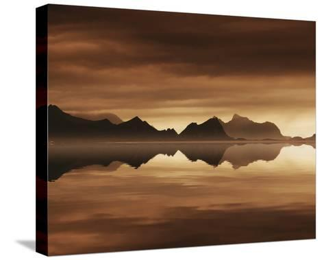 Mirrored Sea-Andreas Stridsberg-Stretched Canvas Print