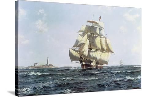 Mckay Clipper, Anglo-American-Roy Cross-Stretched Canvas Print