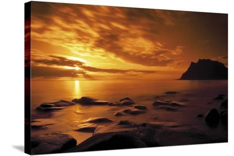 Afterglow-Andreas Stridsberg-Stretched Canvas Print