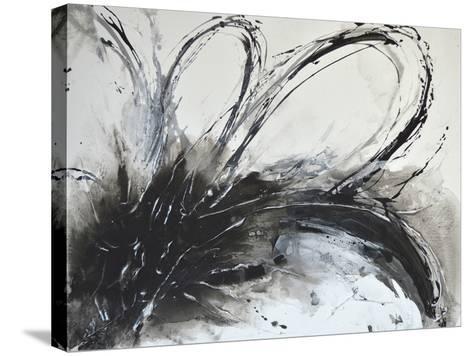 Monochrome Flora I-Caroline Ashwood-Stretched Canvas Print